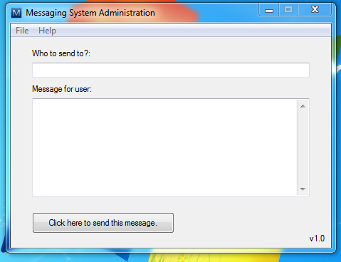 Message Notification System
