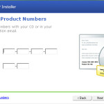 Locate your quickbooks serial number in your files…