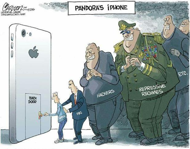 Unlocking the San Bernardino shooter's iPhone
